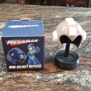 Loot Crate Mega Man Mini Helmet Replica  *New*